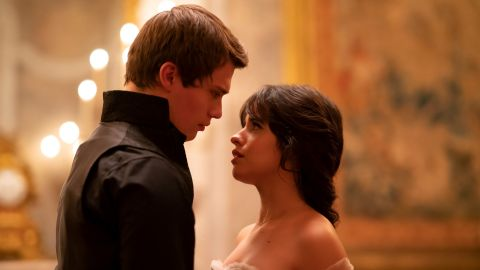 Nicholas Galitzine and Camila Cabello in Amazon's 'Cinderella'.