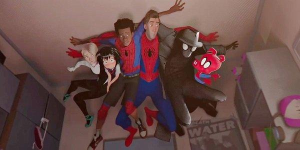 The Spider-Verse Spider-Man: Into The Spider-Verse Sony