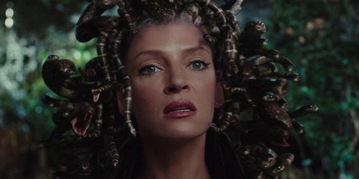 Uma Thurman as Medusa in Percy Jackson and the Olympians: The Lightning Thief