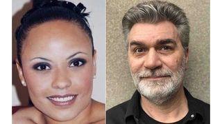 Natasha Dickson and Patrick Morel