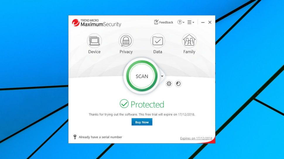 Trend Micro Antivirus+ Security review