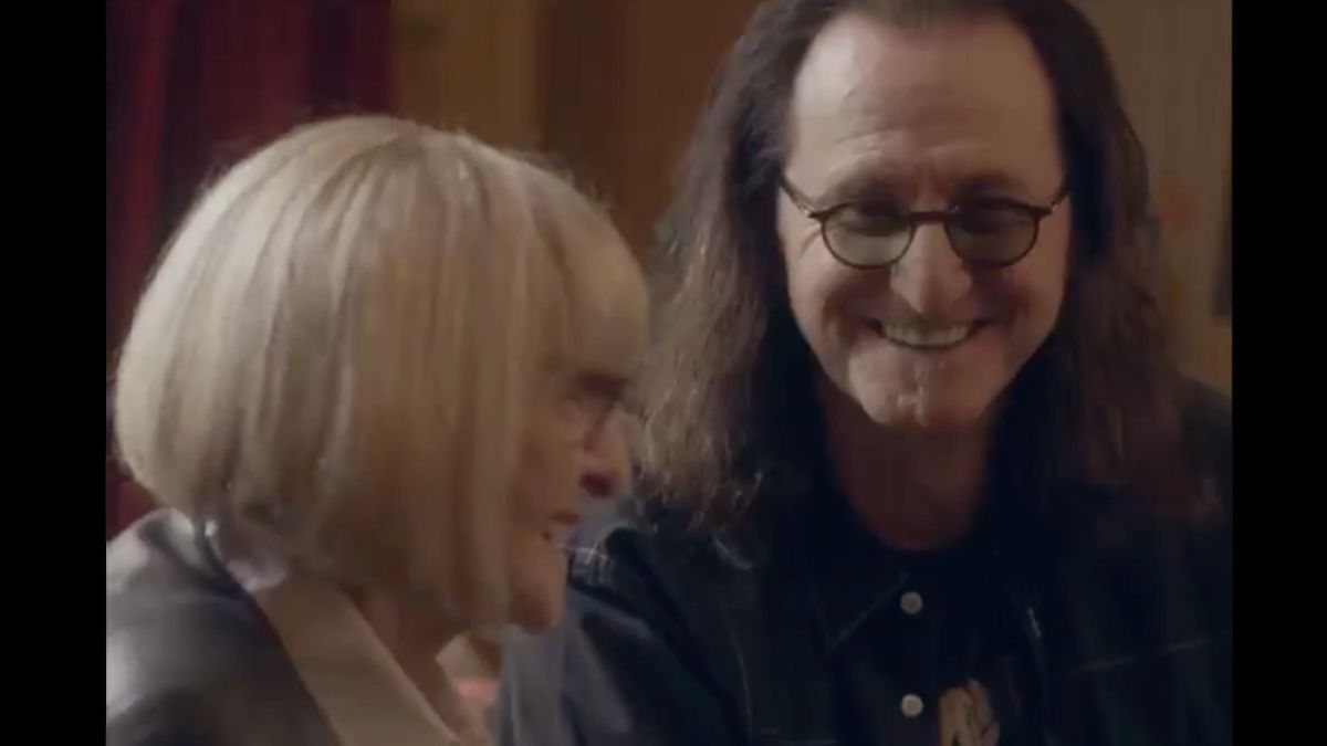 Watch Rush's Geddy Lee and his mum in trailer for Dave Grohl's From Cradle To Stage TV show