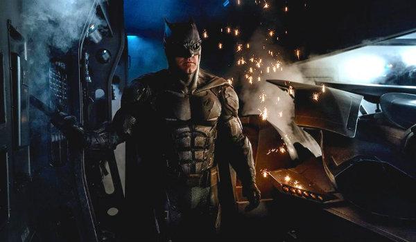 Ben Affleck Batman Justice League Suit