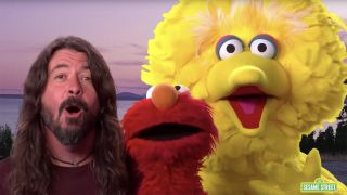 Dave Grohl on Sesame Street