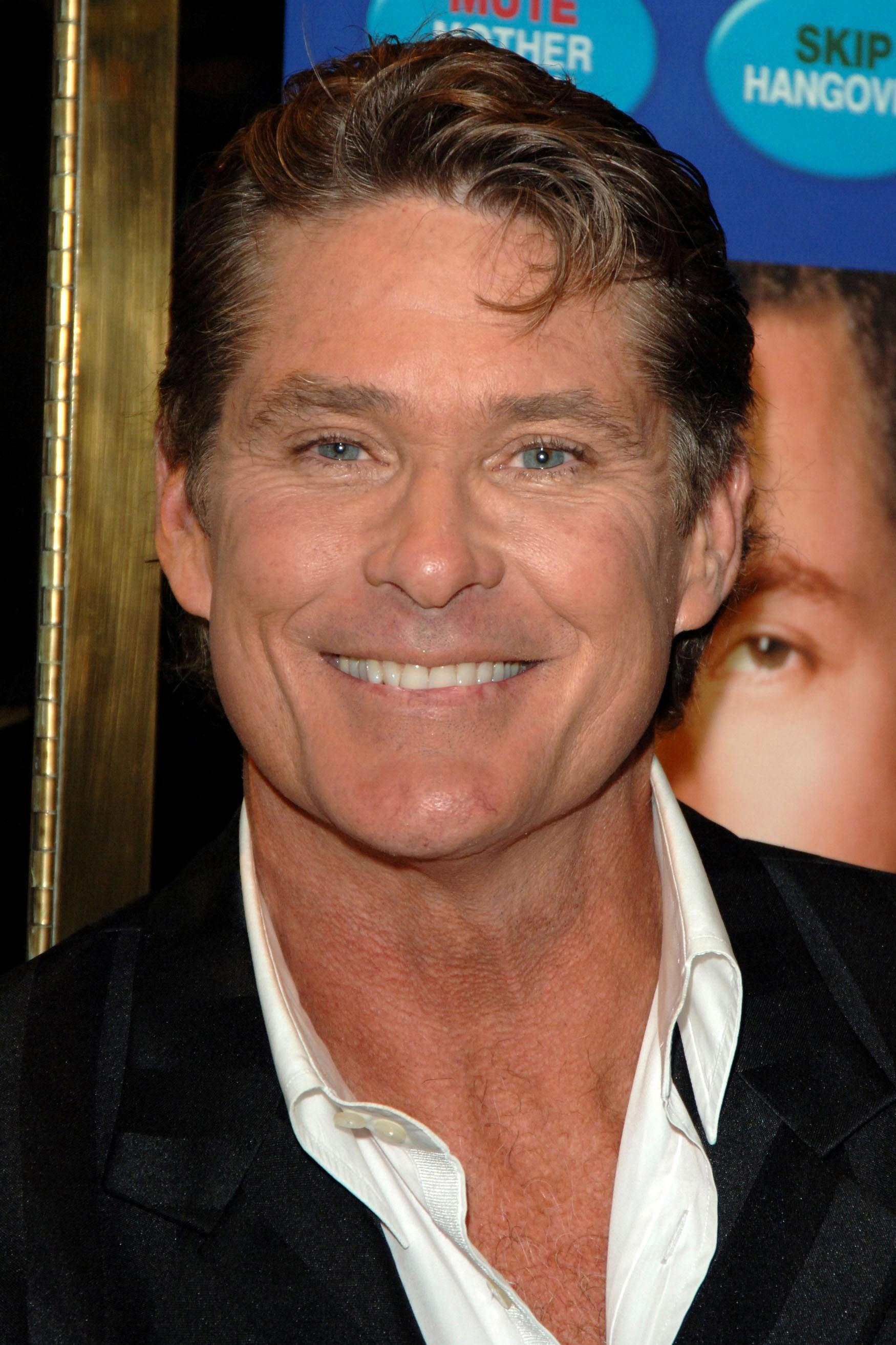 The Hoff forms unlikely TV bond with Radio 1 DJ