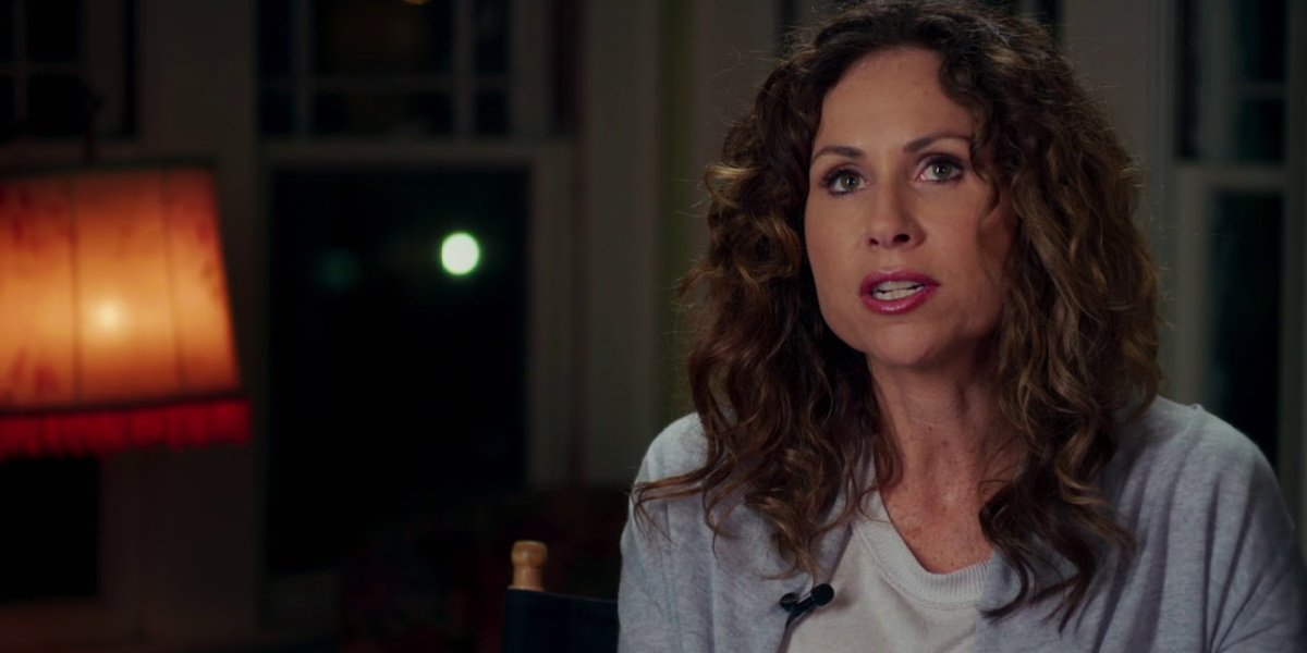 Minnie Driver in Spinning Man. She will be playing Queen Beatrice in Cinderella.