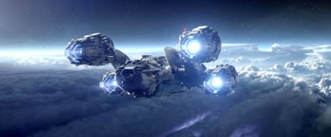 the ship flying prometheus