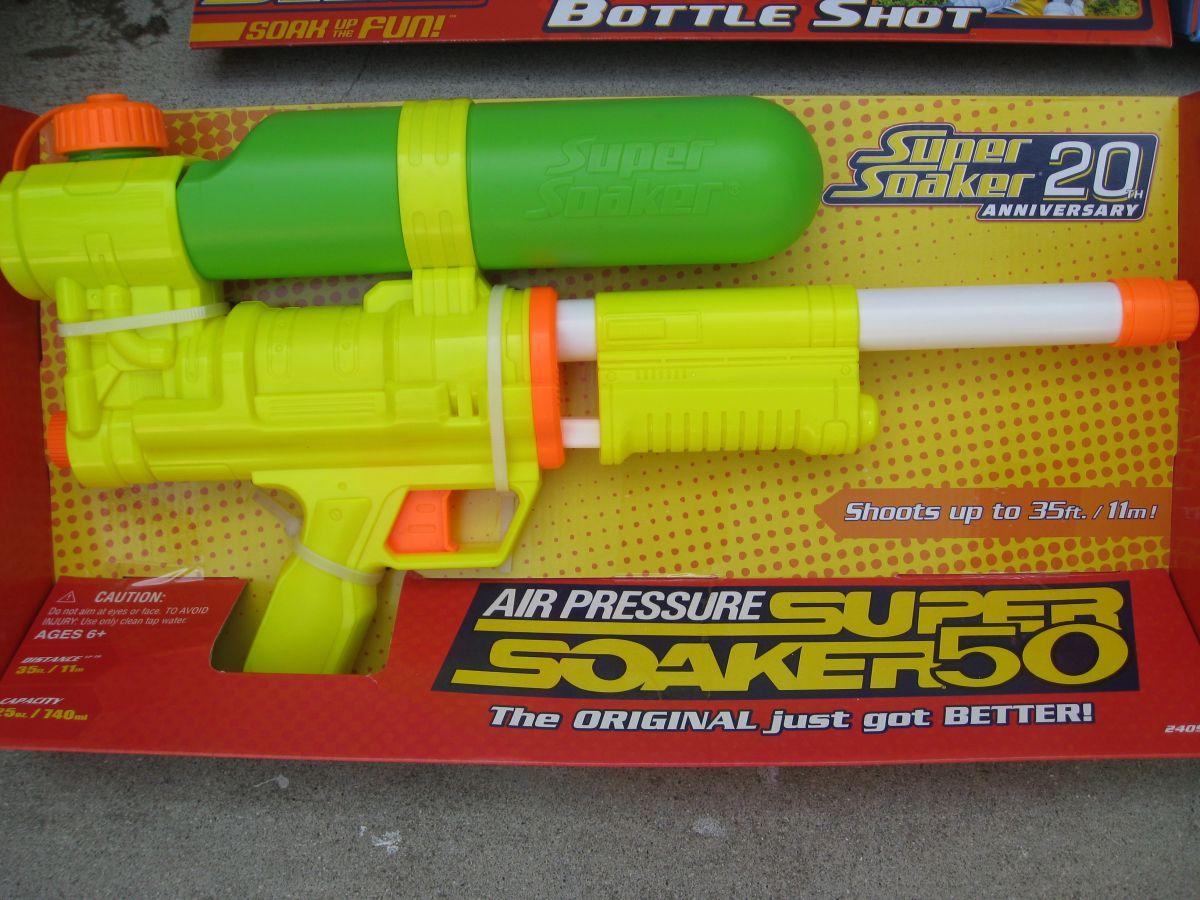 Super Soaker 50: Still The Best Water Gun | Tom's Guide