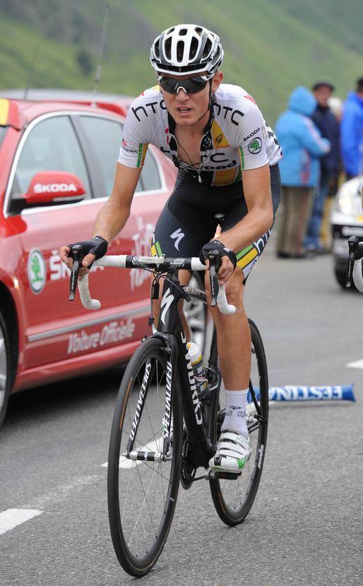 Tejay Van Garderen, Tour de France 2011, stage 12