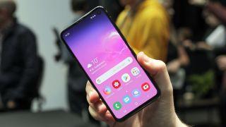 The Samsung Galaxy S10e. Image credit: TechRadar