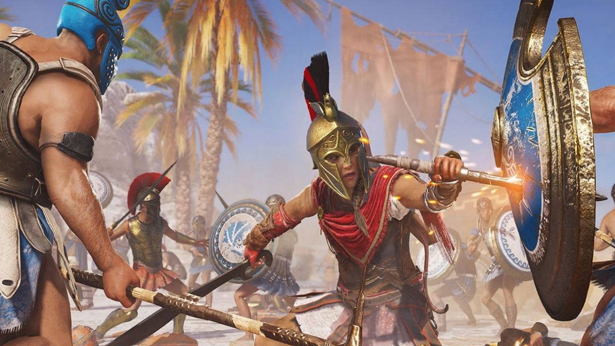 Assassin's Creed Odyssey's latest update adds Visual ...