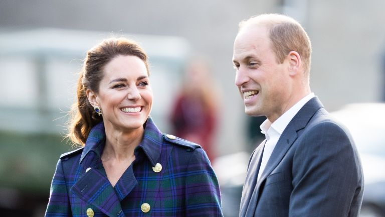 Kate Middleton, Duchess of Cambridge and Prince William, Duke of Cambridge arrive to host NHS Charities Together and NHS staff