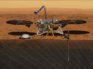 Mars InSight: Artist's Concept