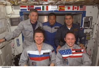 Space Station Astronauts Prepare for Crew Change