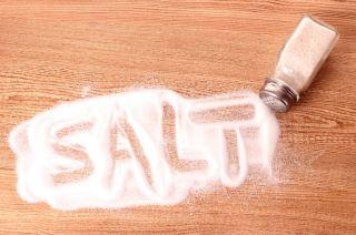 Salt spill