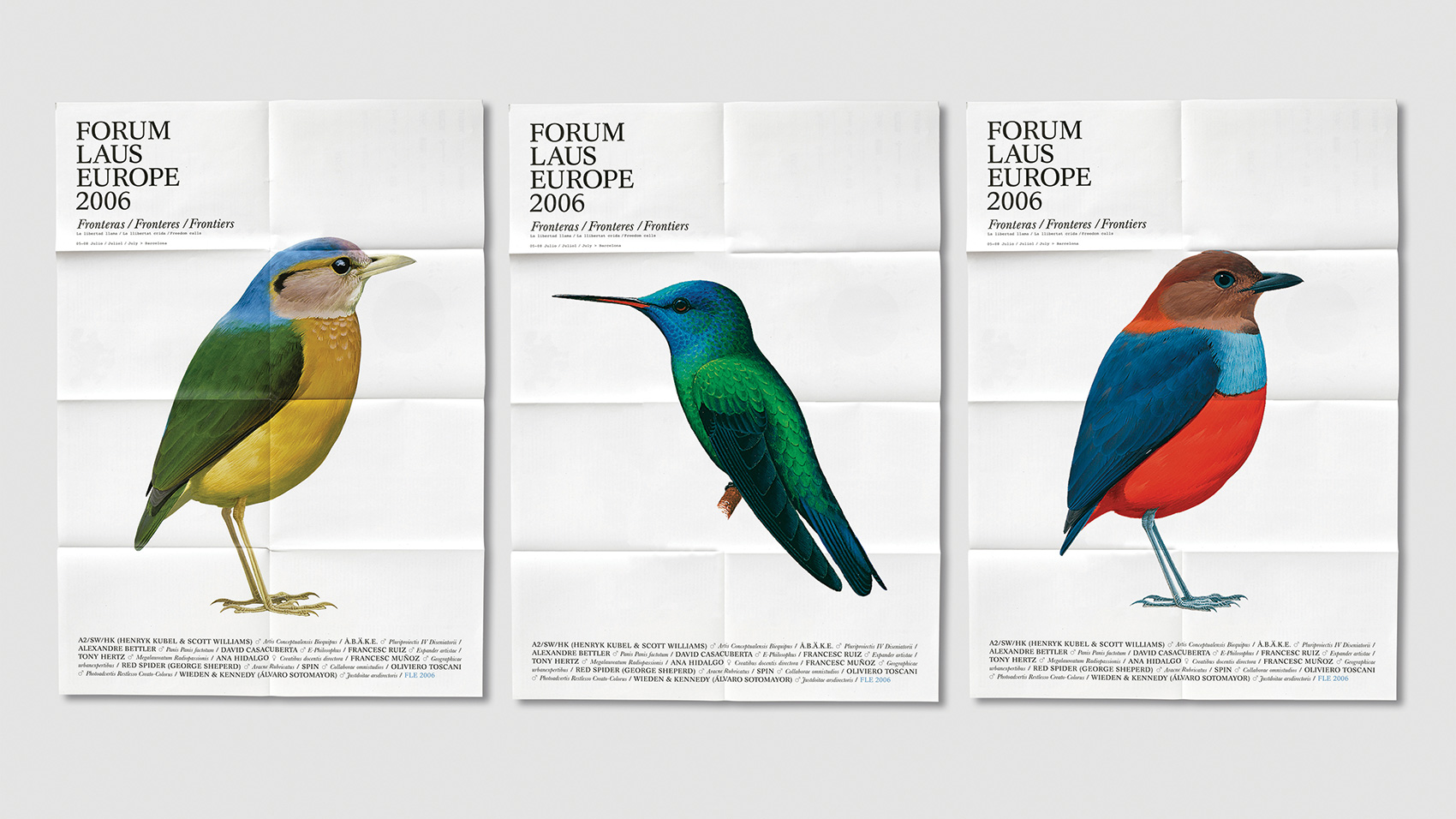 Graphic design game changers: Identity
