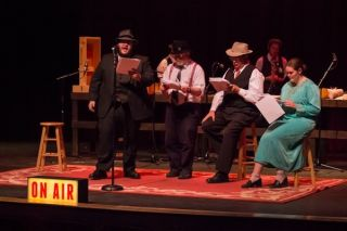 Radio Drama Revival at Husson University Delivers Real-World Skills and Holiday Chills
