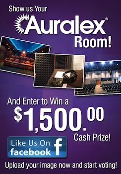 Auralex Acoustics Holds Facebook Contest