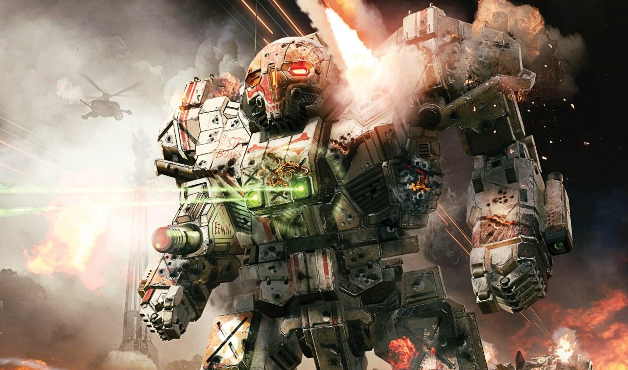 Watch huge robots smash stuff in this new MechWarrior 5