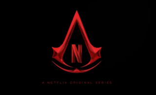 The development logo for Netflix's upcoming Assassin's Creed series.