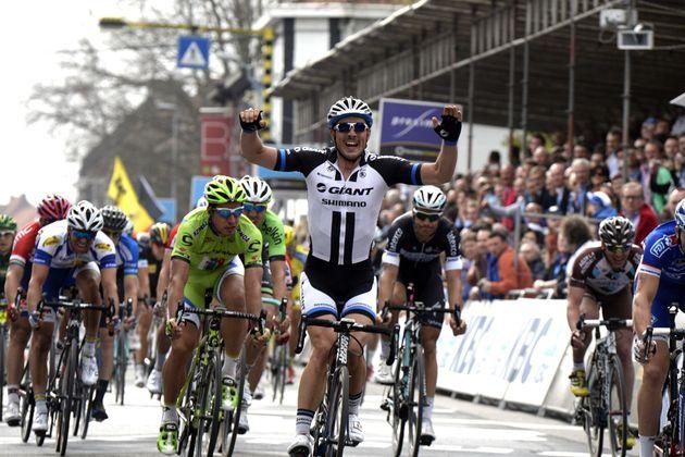 John Degenkolb wins the 2014 Ghent-Wevelgem