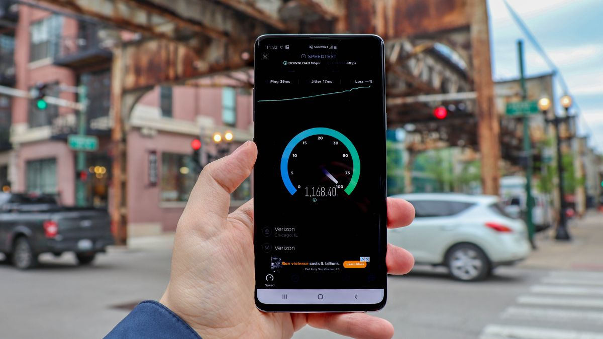 5G Speeds Australia 5g speed test: 1.4gbps in chicago, but only if you do the