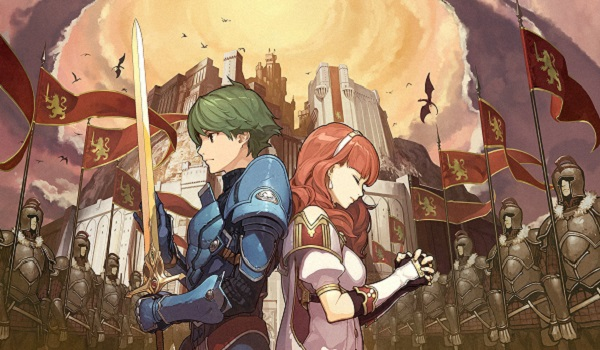 Alm and Celica from Fire Emblem Echoes