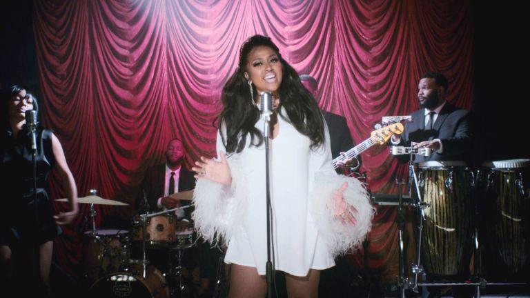 """Still of Jazmine Sullivan from BET's """"Soul Train Awards 2020"""""""
