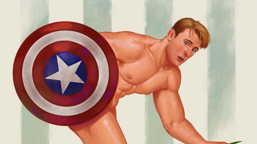 Scantily clad Marvel heroes subvert the pin-up genre | Creative Bloq