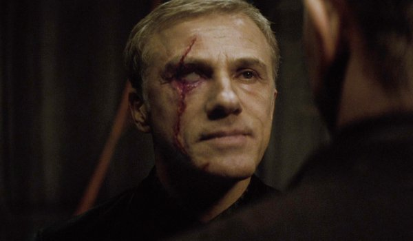 Spectre a scarred Blofeld confronts James in the ruins of MI6