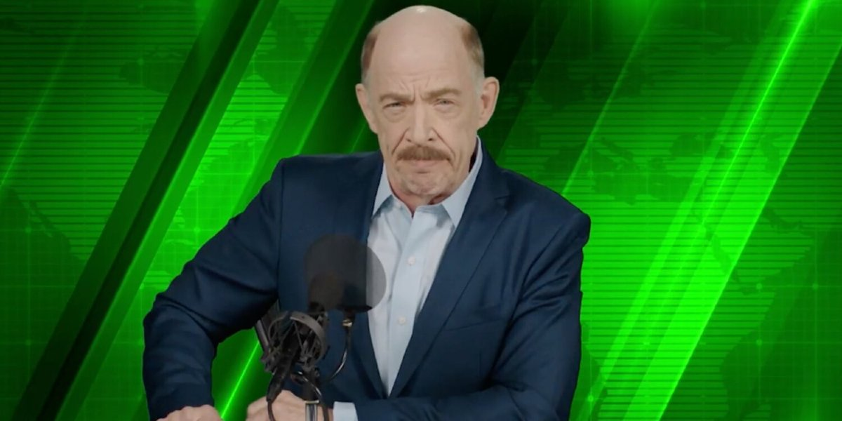 J.K. Simmons in Spider-Man: Far From Home
