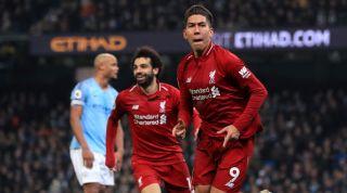 Firmino Liverpool Man City