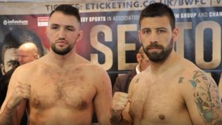 Sam Sexton vs Hughie Fury