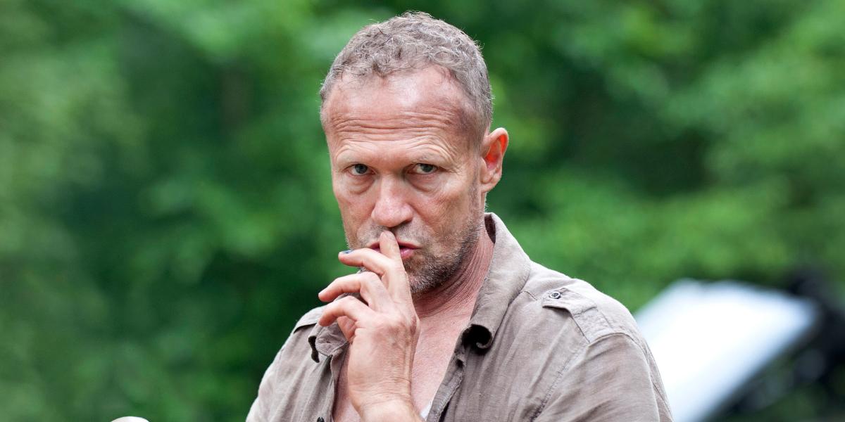 The Walking Dead Merle Dixon Michael Rooker AMC