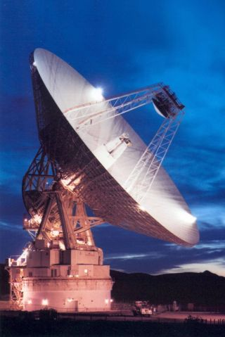 70-meter Goldstone Antenna