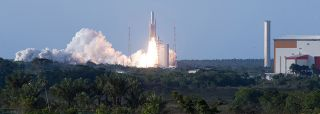 Ariane 5 Rocket Successfully Launches Satellite Duo