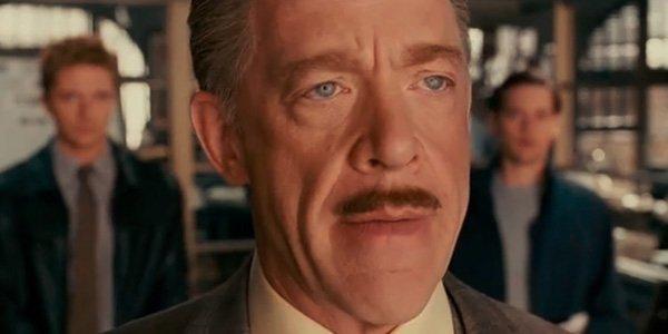 J.K. Simmons as J. Jonah Jameson