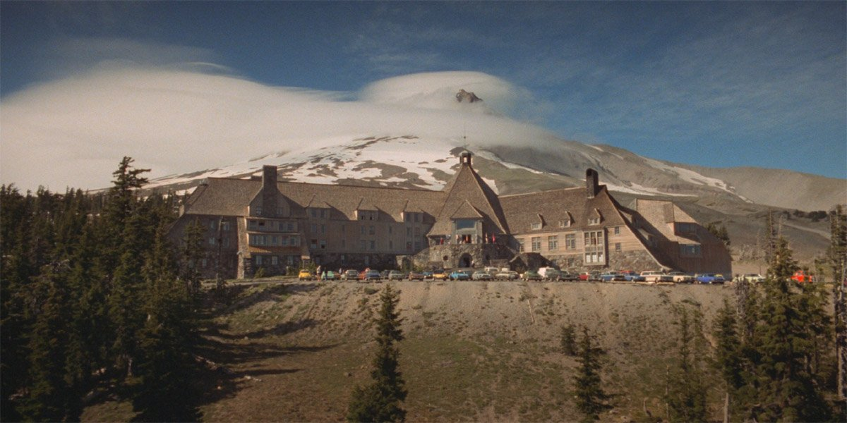 The Overlook Hotel in The Shining