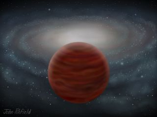 Purest, Most Massive Brown Dwarf