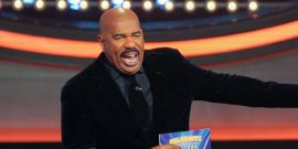Real Housewives Stars Lit Up Celebrity Family Feud's Steve Harvey With Ridiculous Answers