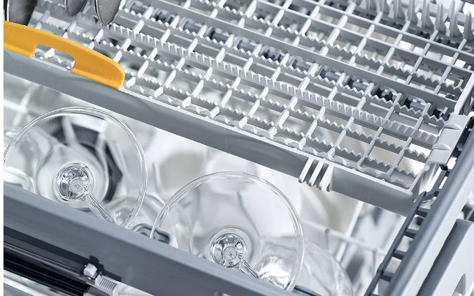 John Lewis dishwashers: Inside a Miele dishwasher