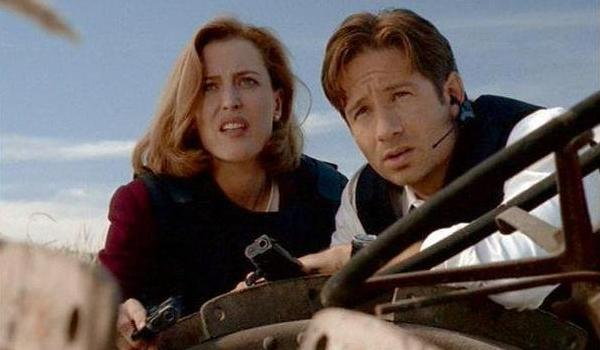 the x files home scully mulder