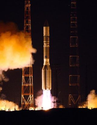 Russian Rocket Launches Nimiq 6 TV Satellite