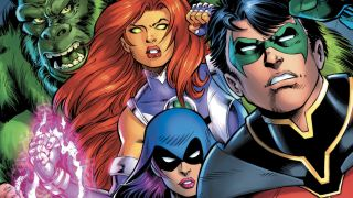 cover of Teen Titans: Burning Rage #1