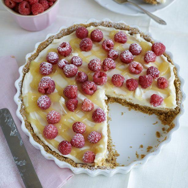 lemon cheesecake tart