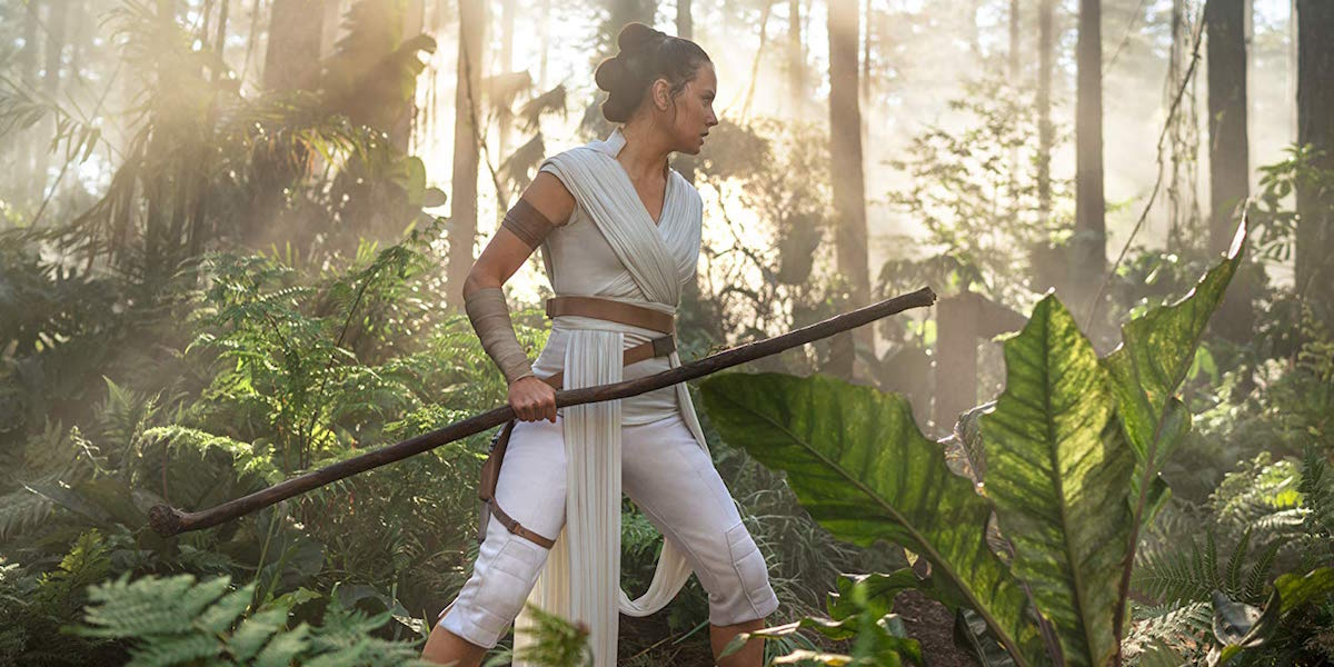Daisy Ridley as Rey in Star Wars: The Rise of Skywalker