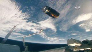 Japanese Cargo Ship Departs Space Station. Next Stop: Oblivion.
