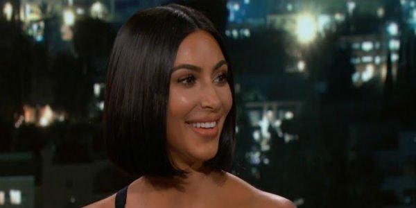 Kim Kardashian West Jimmy Kimmel Live!