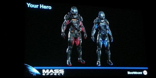 Heroes in N7 armor