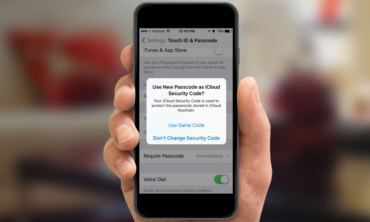 How to Change Your Security Passcode in iOS 9 | Tom's Guide